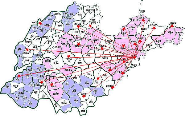 山东美国红枫客户分布